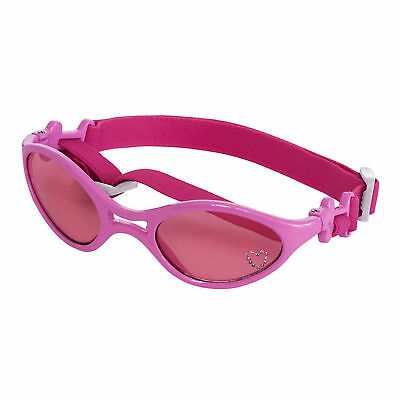Doggles K9 Optix Dog Goggles Sunglasses in Shiny Pink Frame / Pink Lens Small