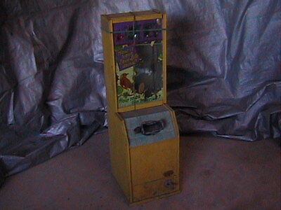 Vintage Peep Show Coin Operated Machine 5¢ Exhibit Supply Arcade