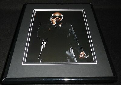Young Jeezy 2007 Motorola Framed 11x14 ORIGINAL Advertisement