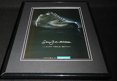 2001 Sean John Elite Shoes Framed 11x14 ORIGINAL Advertisement