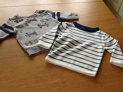 Baby boys long sleeved tops x 2 from Next