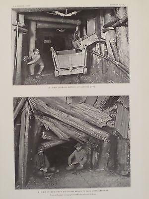 Chandler Mine Ore Car Cave In Vermilion Iron Ore Basin Ely Minnesota 1903