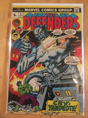 Defenders 5,6&7 Bronze Age Classic In Fine Plus Condition