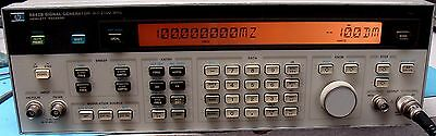 HP/AGILENT 8642B 0.1 TO 2100 MHz GENERATOR W/OPT 001! CALIBRATED !