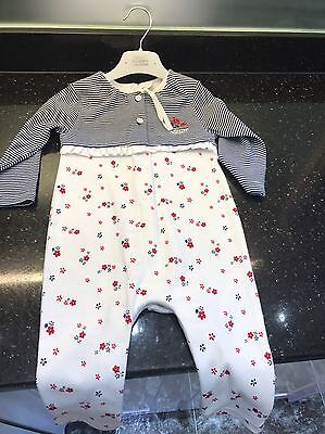 Baby Girl Jasper Conran Baby Grow Outfit BNWOT 9-12months