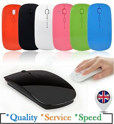2.4 GHz Wireless Cordless Optical Scroll USB Mouse For PC Laptop Computer