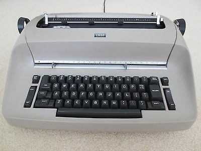 Refurbished IBM Selectric I Typewriter with Cover and Warranty