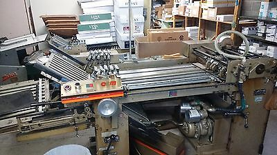 O&M 20x26 F20 Series folder with right angle
