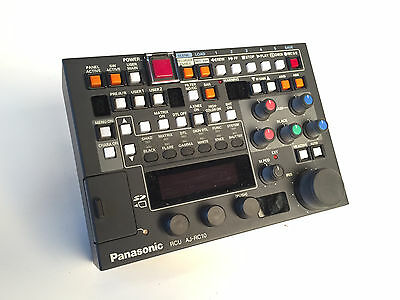 Panasonic AJ-RC10G: Remote Control w/10 m AND 30m cables!  USED ONLY 5 TIMESI!!