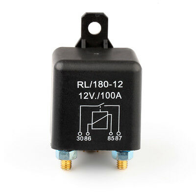 12V 100A Car Motor Automotive Relay Continuous Split Charge ON/OFF Switch Boat