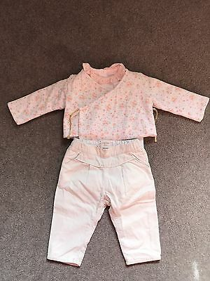3 Piece Baby Girl Outfit Age 6 - 9 Months