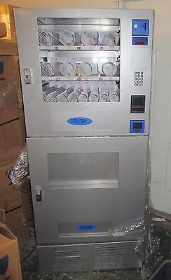 NEW Seaga VC730 Combo Vending Machine Cold Drinks + Room Temp Snacks VC16S VC7RD