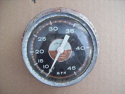 Antique Airguide Sea Speed Movement MPH Boat Speedometer-Nautical Gauge