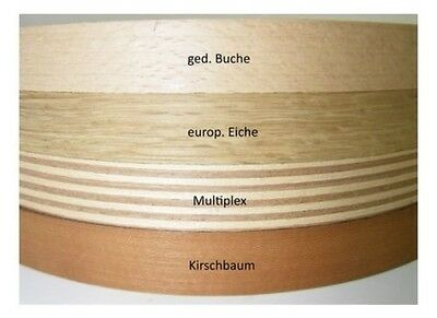 Real wood veneer Edges liner 5m 23 mm EUR 0,998/m SK coated polished