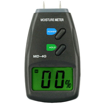 Digital Moisture Meter LCD Wood Firewood Humidity Detector HY