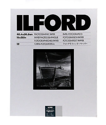 Ilford Multigrade IV RC Deluxe B&W VC Paper (16 x 20in, Pearl, 10 Sheets)