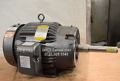 New Baldor 7.5kW Electric Motor 1425RPM 4-Pole 215JP Frame  3-Phase Gusher Pump
