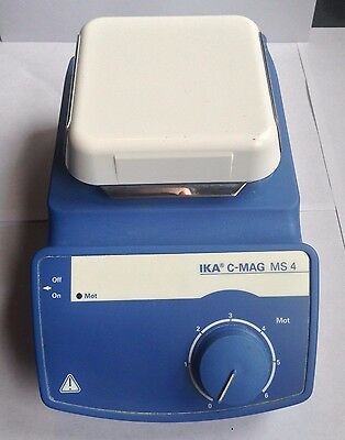 IKA C-MAG MS 4 Magnetic Stirrer S1 Stir plate