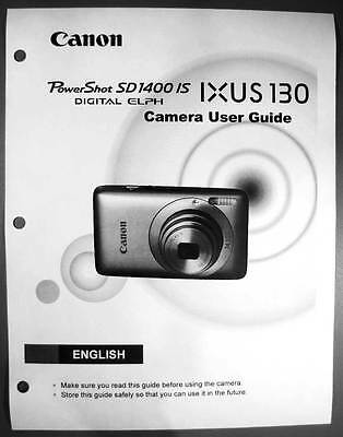 canon powershot sd110 ixus iis digital camera user guide instruction rh picclick com Canon IXUS 16.1 Mega Pixels Canon Digital IXUS Charger