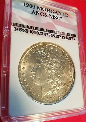 1900 $1 Morgan Silver Dollar extremely high grade!