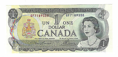 One $1 Dollar Bank of Canada Notes '69-'75 Series - Uncirculated MINT