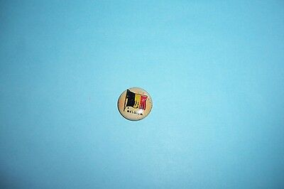 "Vintage Sheffield Sealect ""A"" Belgium Flag Pin Giveaway"