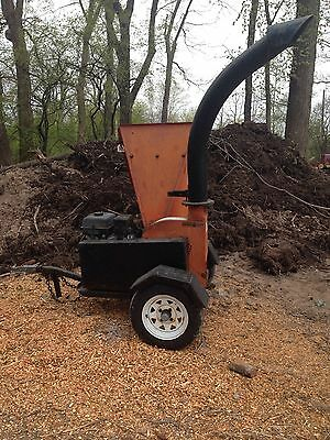 "Echo ( Crary ) Bearcat Model 73413 4 ""  Wood Chipper -  Gas"