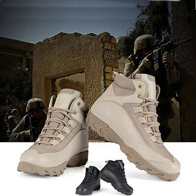 Airsoft Outdoor Tactical Shoes Combat Boots For Hunting Hiking Mountaineering