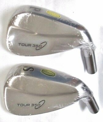 TOUR 350 Golf Club PW SW Wedge Head Components Classic Style