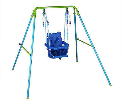 Foldable Toddler Kids Baby Swing With Seat Garden Yard Play Toy Chrismas Gift
