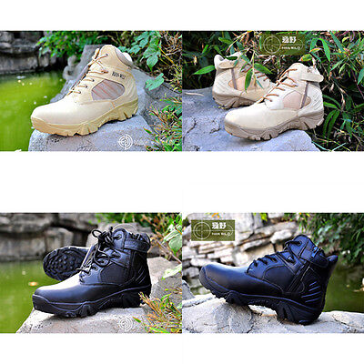 Desert Outdoor Tactical Shoes Combat Boots For Hunting Hiking Mountaineering