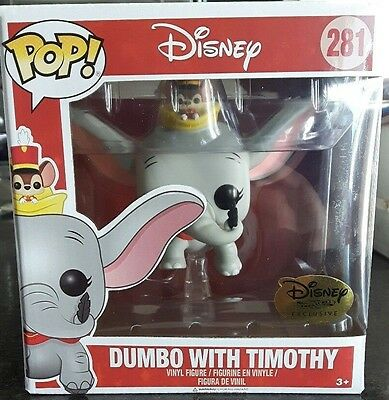FUNKO POP Dumbo Flying With Timothy DISNEY TREASURES EXCLUSIVE limited edIT 281