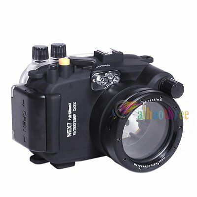 Meikon 40M 130ft Waterproof Diving Case Cover For Sony NEX-7 16-50mm Camera【AU】
