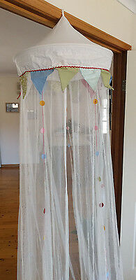 baby cot canopy, in perfect condition