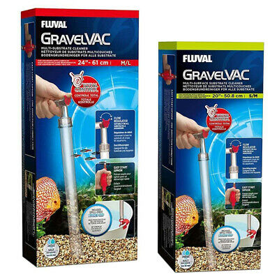 Fluval Gravel Vacs - Small/Medium Multi-Surface Substrate Cleaner 11080 / 11081