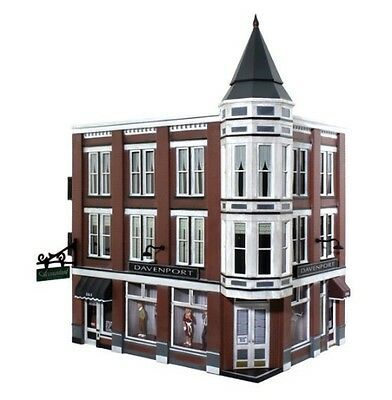 Woodland Scenics [WOO] O Built Up Davenport Department Store BR5847 WOOBR5847