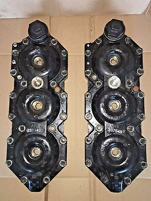 Cylinder Heads #0337548 Johnson Evinrude 150 175 Hp 1992-2006