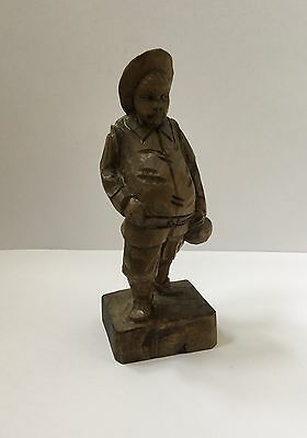 OURO Artesania Made in Spain Wooden Carving of Sancho Panza