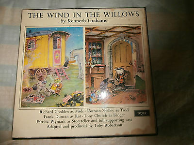 The Wind In The Willows / Kenneth Grahame / 2 Record Box Set   Ex