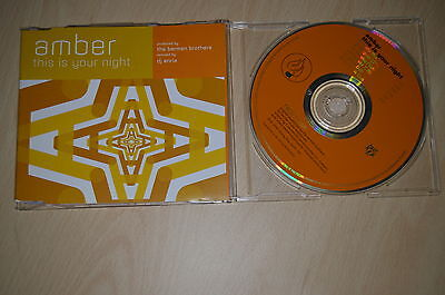 Amber – This Is Your Night. CD-Maxi