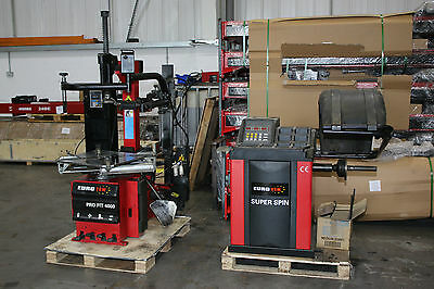 Eurotek Tyre Changer and Wheel Balancer Package 5