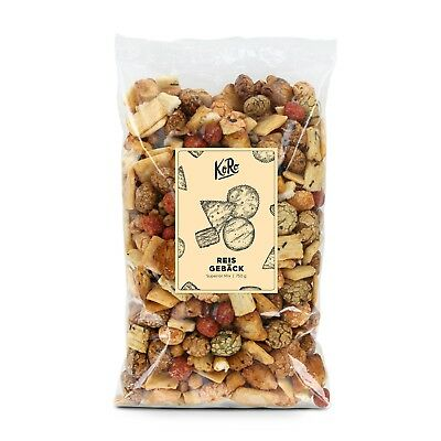 Reisgebäck Superior Mix 750g Reiscracker Reis Cracker Snacks KoRo