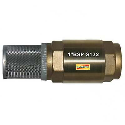 """1"""" BSP Check Foot Valve Strainer Non Return Oil Diesel Water Non Toxic Chemical"""