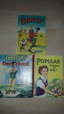 Bunty The Book for Girls 1978 , Popular Stories For Girls & Girls Own Book
