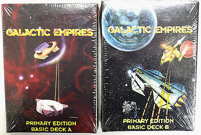 Galactic Empires - Primary Edition Basic Deck A & B Factory Sealed