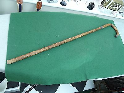 Vintage Silver Topped 1931 Hallmarked Walking Stick