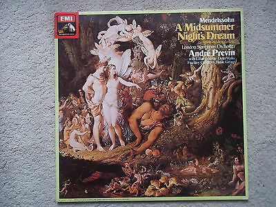 ASD 3377 Mendelssohn: A Midsummer Night's Dream/Previn/TAS Listed