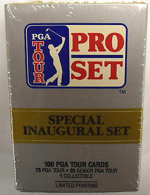 PGA Tour Pro Set - Special Inaugural Set - Limited Printing Golf Cards