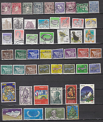 lot timbres Irlande Eire