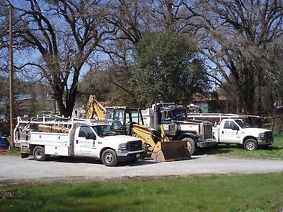 Plumbing and Backhoe business for sale